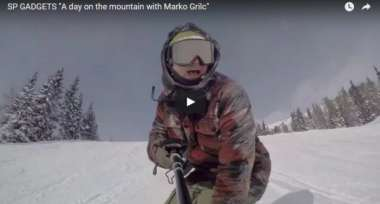 "SP GADGETS ""A day on the mountain with Marko Grilc"""
